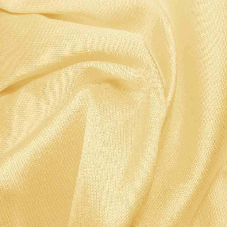 Silk Wool Fabric Banana