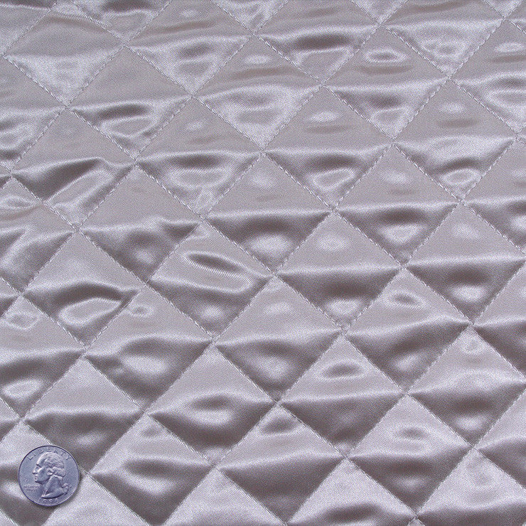 Polyester Quilted Padded Lining Beige