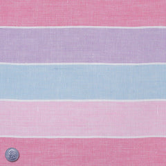 Linen Stripes Collection #2 Berry - NY Fashion Center Fabrics