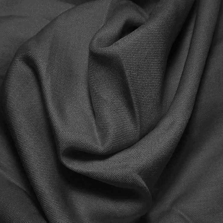 Cotton Blend Broadcloth - 30 Yard Bolt Black 579 - NY Fashion Center Fabrics