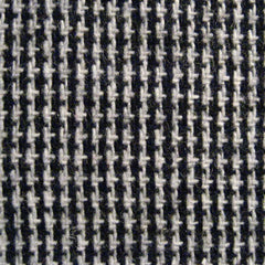 Donegal Tweed Blend Fabric Black White Triblend - NY Fashion Center Fabrics