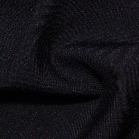 Polyester Poplin - 25 Yard Bolt Black