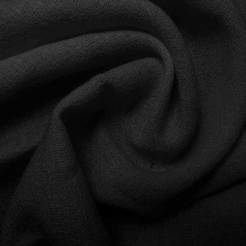 Wool Crepe Black