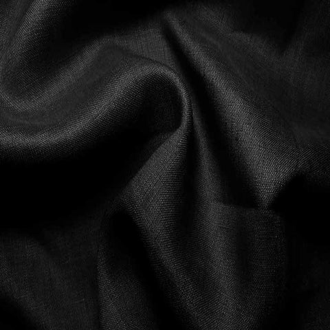 Handkerchief Linen Black - NY Fashion Center Fabrics