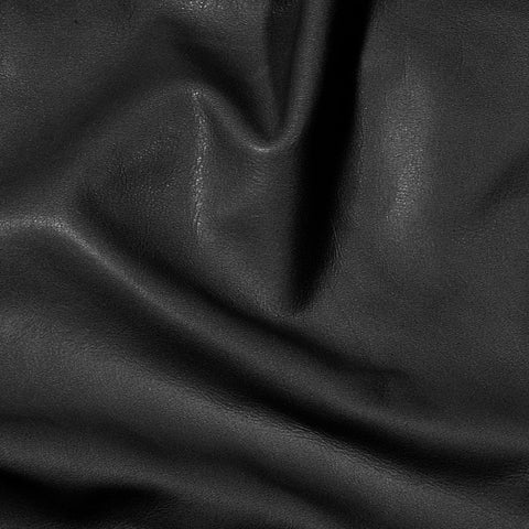 Executive leather Black - NY Fashion Center Fabrics