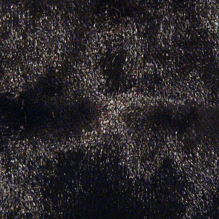 Spandex Crushed Velvet 15 Yard Minimum Black