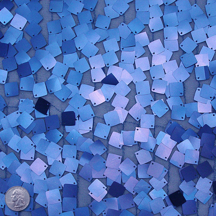 Scale Sequins Blue