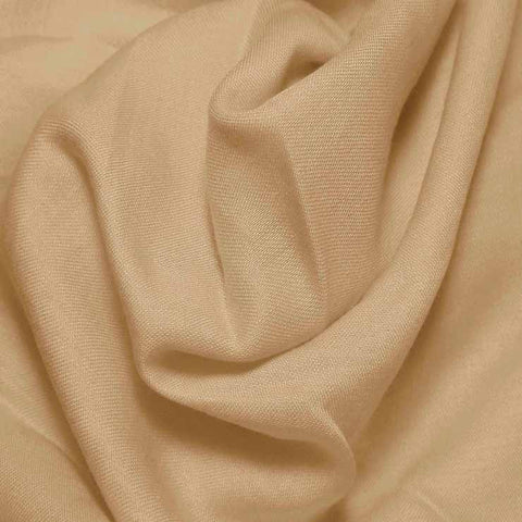 Cotton Blend Broadcloth - 30 Yard Bolt British Tan 592 - NY Fashion Center Fabrics