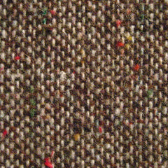 Donegal Tweed Blend Fabric Brown 15LM Triblend - NY Fashion Center Fabrics