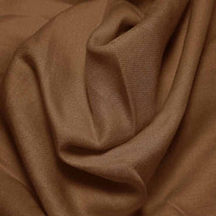 Cotton Blend Broadcloth - 30 Yard Bolt Brown 577 - NY Fashion Center Fabrics
