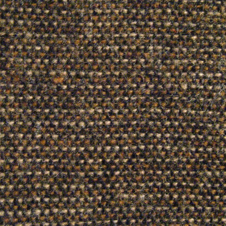 Donegal Tweed Blend Fabric Brown Birdseye - NY Fashion Center Fabrics