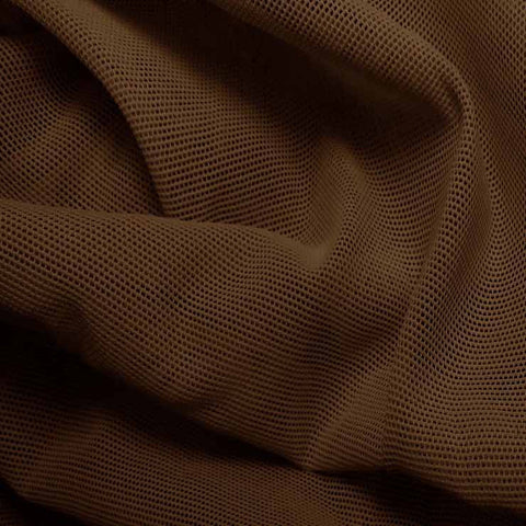Nylon Powermesh Brown - NY Fashion Center Fabrics