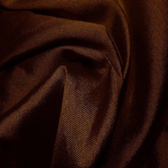 Silk Wool Fabric Brown