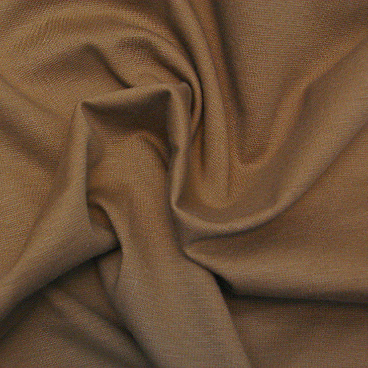 Polyester Ponte Brown