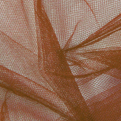 Nylon Tulle Brown - NY Fashion Center Fabrics