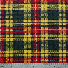 Wool Buchanan Tartan Plaid Suiting Buchanan 77006