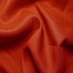 Handkerchief Linen Burnt Orange - NY Fashion Center Fabrics