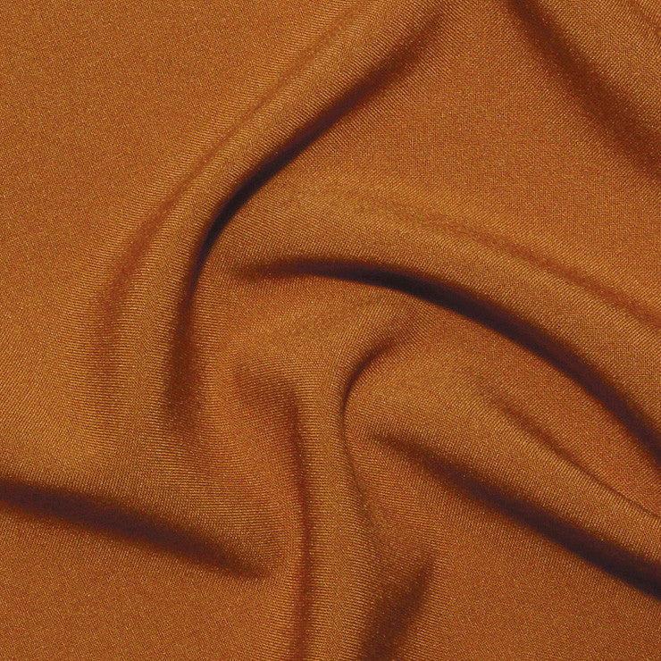 Polyester Poplin - 25 Yard Bolt Burnt Orange