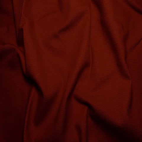 Cotton Duck Cloth, 10oz - 20 Yard Bolt Burnt Scarlet - NY Fashion Center Fabrics