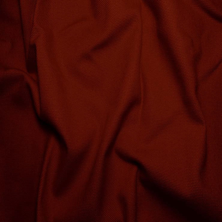 Cotton Canvas Duck Cloth - 10oz Burnt Scarlet - NY Fashion Center Fabrics