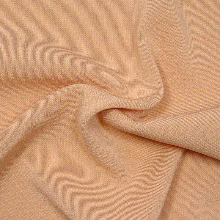 Polyester/Triacetate Blend Jersey Caramel
