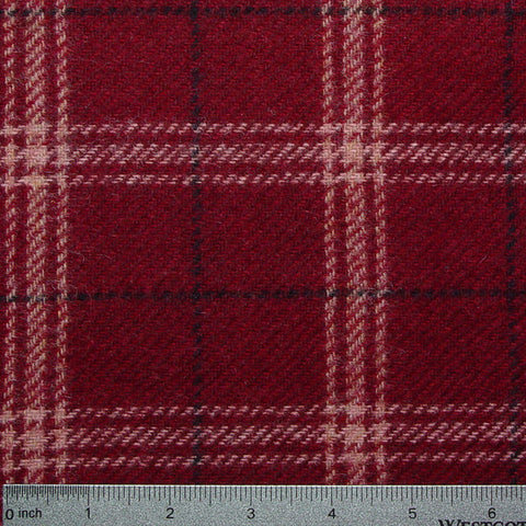 Wool Cardinal Plaid 1214 Cardinal 1214