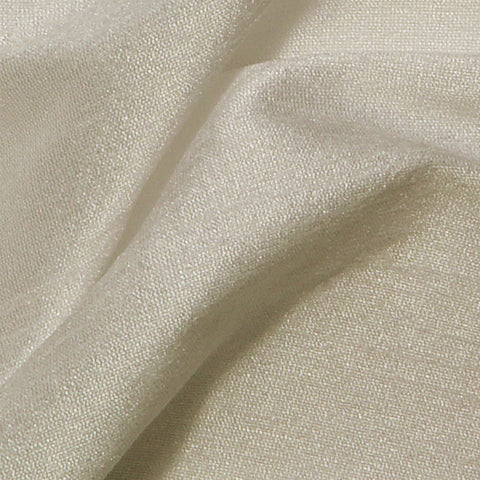 Polyester Stretch Shantung Champagne