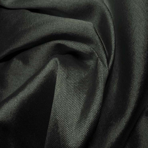 Silk Wool Fabric Charcoal