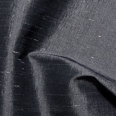 Polyester Stretch Shantung Charcoal