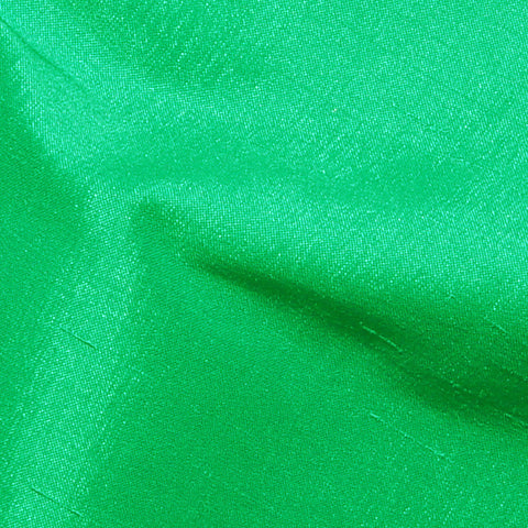 Polyester Stretch Shantung Chartreuse