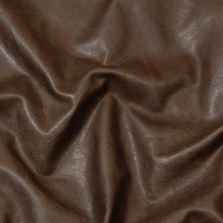 Condor Leather Chocolate - NY Fashion Center Fabrics