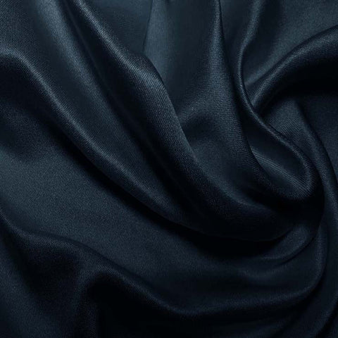 Silk Double Face Satin Cobalt Blue