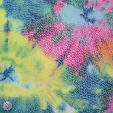Polyester Color Burst Print Mesh Color Burst