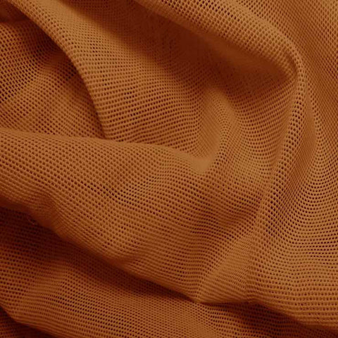 Nylon Powermesh Copper - NY Fashion Center Fabrics