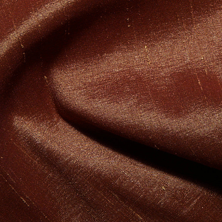 Polyester Stretch Shantung Copper