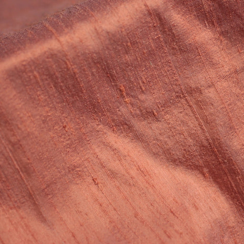 Imperial Silk Dupioni Coral - NY Fashion Center Fabrics
