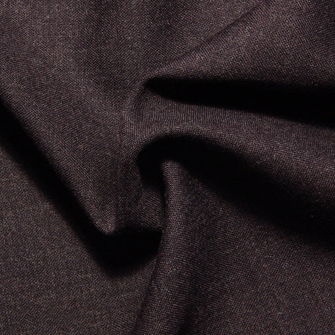 Italian Wool Suiting Dark Brown - NY Fashion Center Fabrics