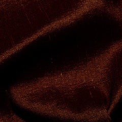 Polyester Stretch Shantung Dark Brown