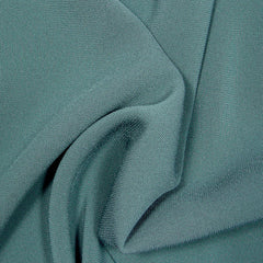 Polyester/Triacetate Blend Jersey Dark Green