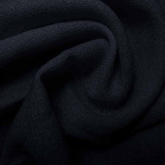 Wool Crepe Dark Navy