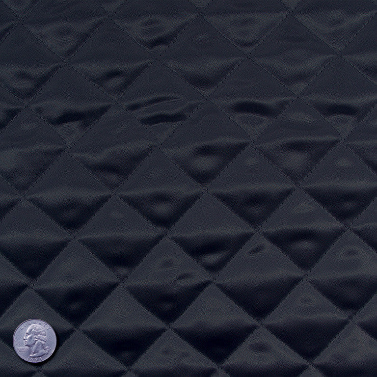 Polyester Quilted Padded Lining DarkGray