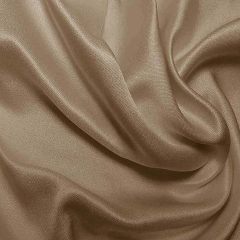 Silk Double Face Satin Desert Clay
