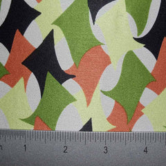 Silk Charmeuse Print Fabric #2 ESP2000 10684green