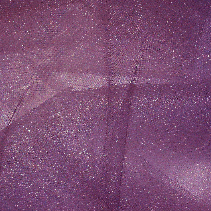 Nylon Tulle Eggplant - NY Fashion Center Fabrics