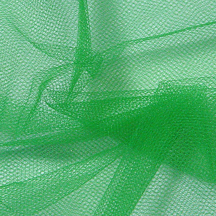 Nylon Tulle Emerald - NY Fashion Center Fabrics
