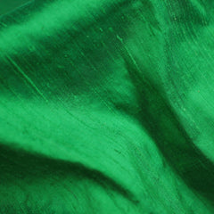 Imperial Silk Dupioni Emerald - NY Fashion Center Fabrics