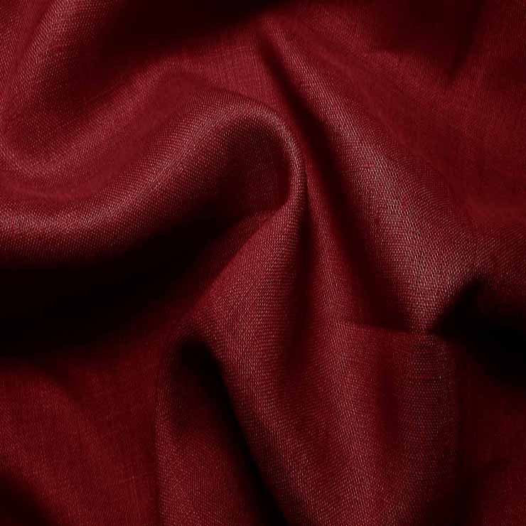 Handkerchief Linen English Red - NY Fashion Center Fabrics