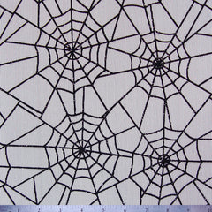 Spider Web Mesh FNS 725 Black On White