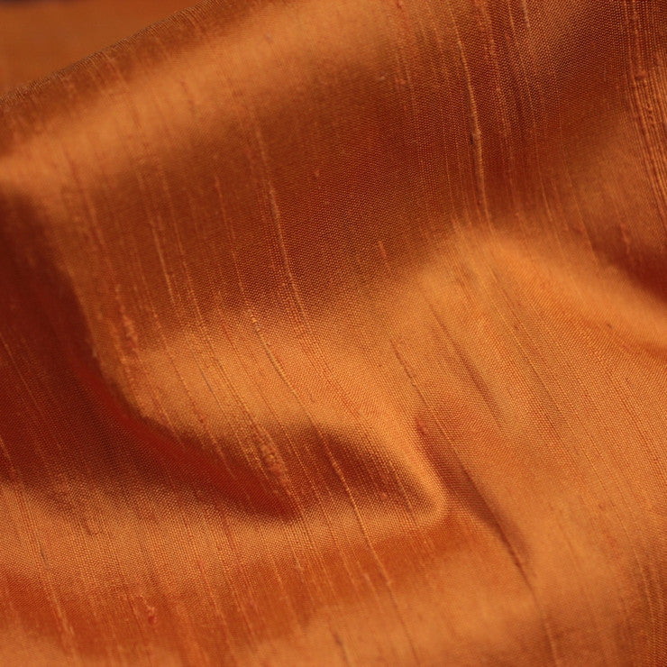 Imperial Silk Dupioni Fire - NY Fashion Center Fabrics