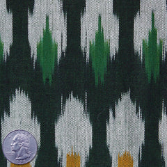 Cotton Ikat Forest Green - NY Fashion Center Fabrics